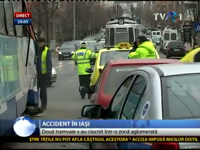 Accident de tramvai la Iași