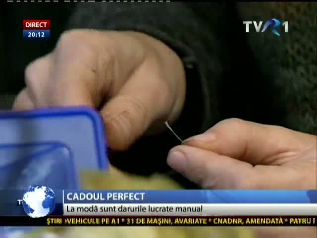 Cadoul perfect, lucrat manual