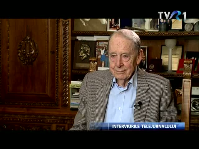 Tom Kibble, la Interviurile Telejurnalului