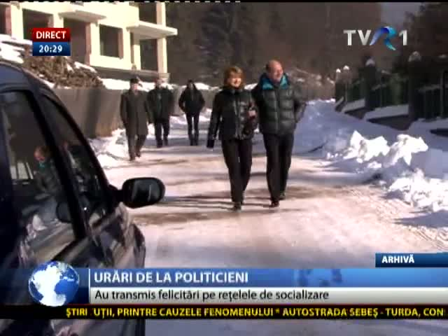 Urările politicienilor