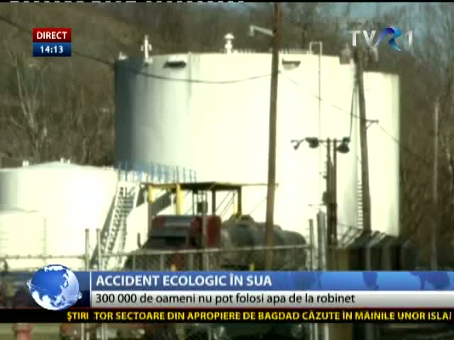 Accident ecologic în SUA