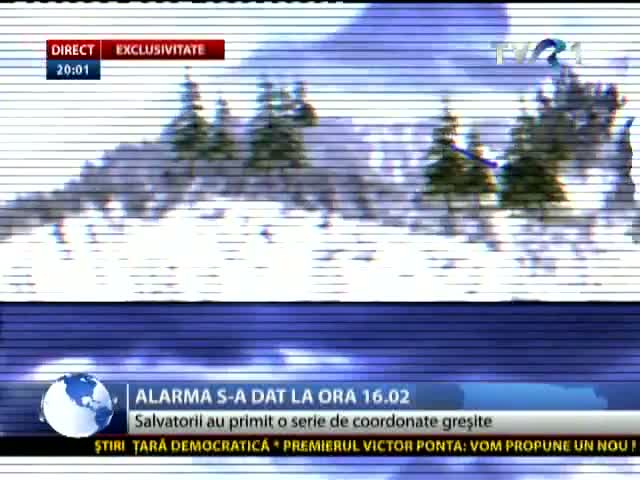 EXCLUSIVITATE Alarma s-a dat la ora 16:02