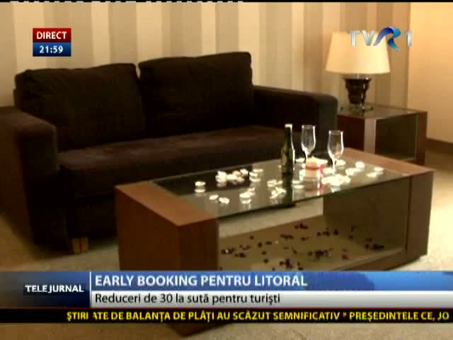 Early booking pentru litoral