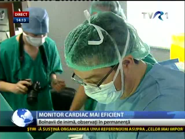 Monitor cardiac mai eficient