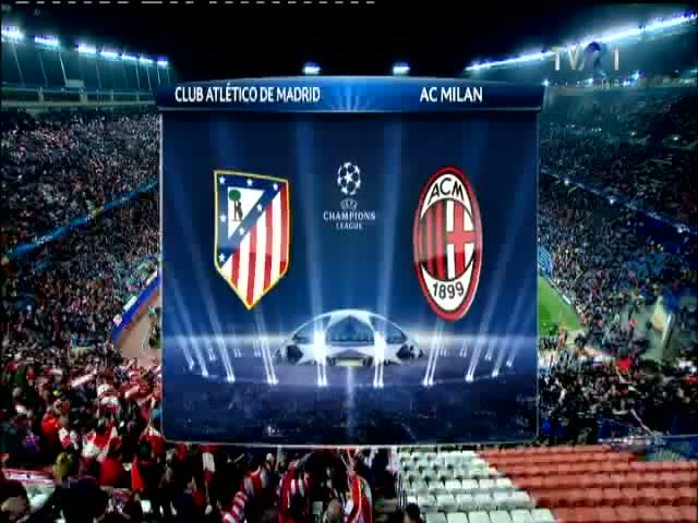 Atletico Madrid - AC Milan 4-1