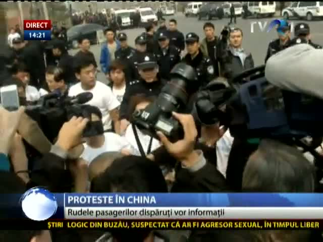 Proteste în China