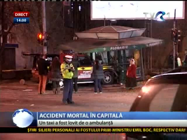 Accident mortal în Capitală