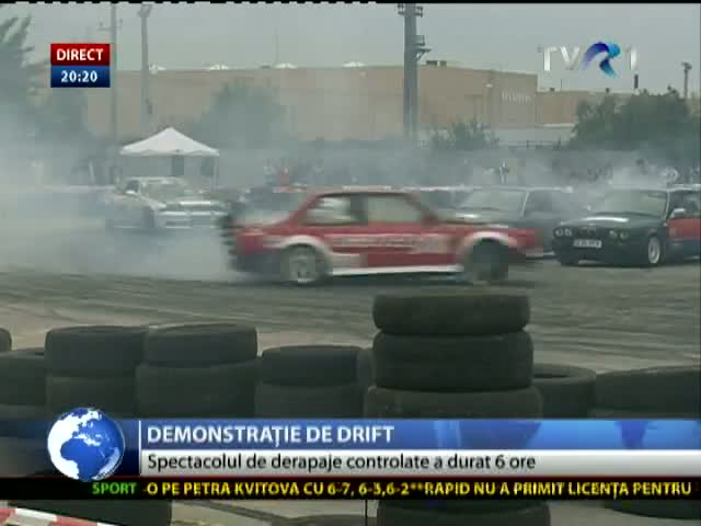 Demonstrație de drift