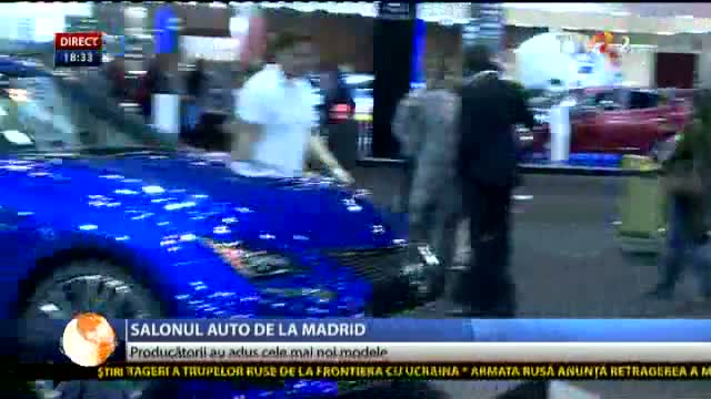 Salonul auto de la Madrid
