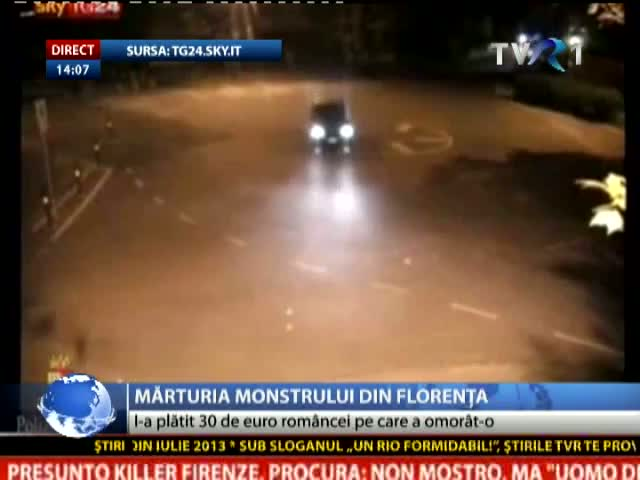 Mărturia monstrului din Florența