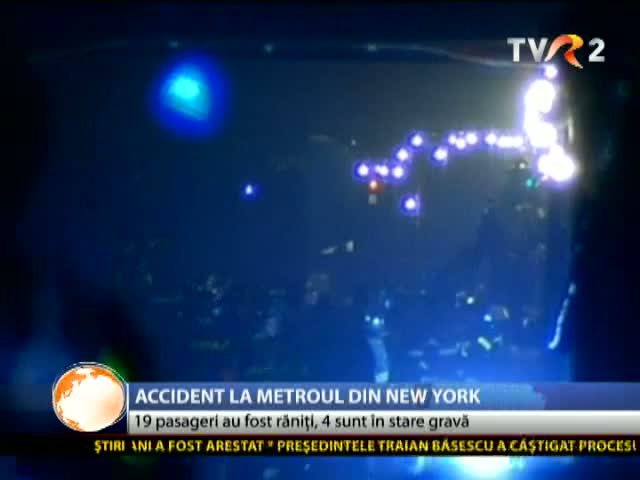 Accident la metroul din New York