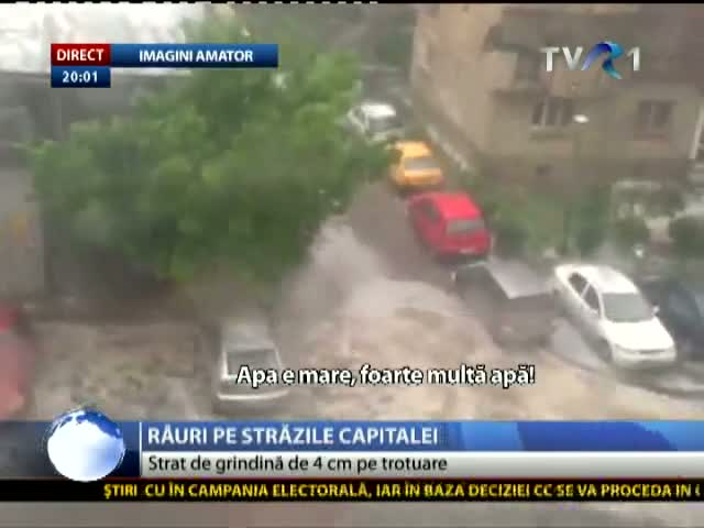 Potop in Capitală