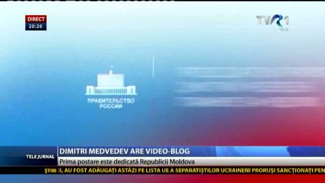 Dmitri Medvedev are video- blog
