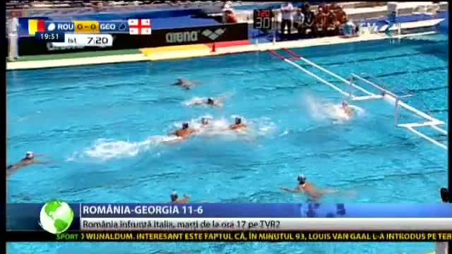 Debut perfect: România - Georgia 11-6