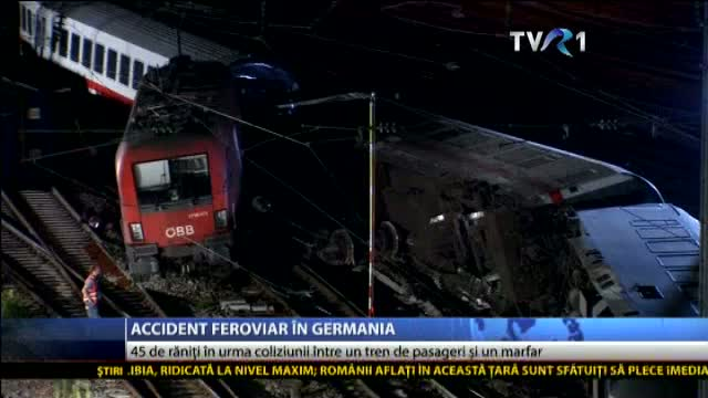 Accident feroviar în Germania