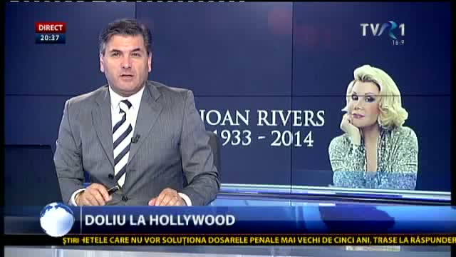 Doliu la Hollywood: a decedat Joan Rivers
