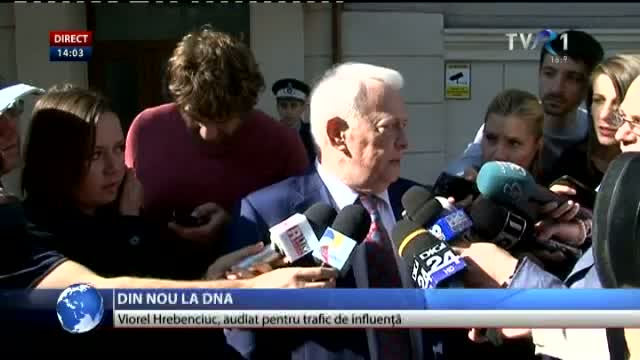 Viorel Hrebenciuc, la DNA