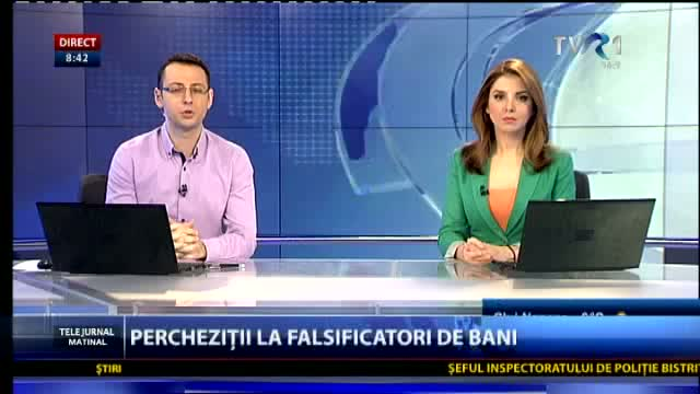 Percheziții la falsificatori de bani