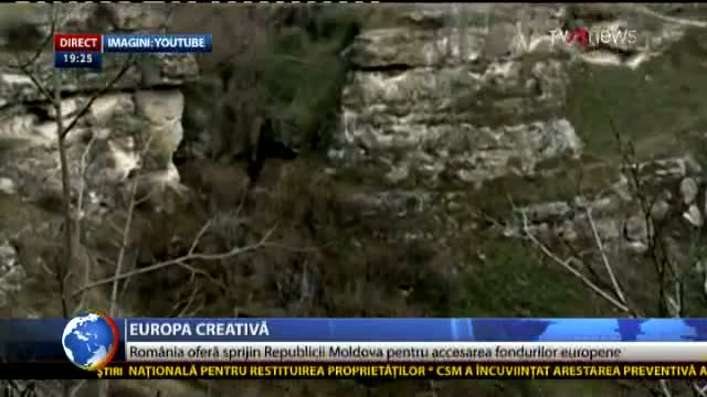 Telejurnal Moldova: Europa creativă