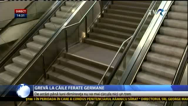 Grevă la Căile Ferate Germane