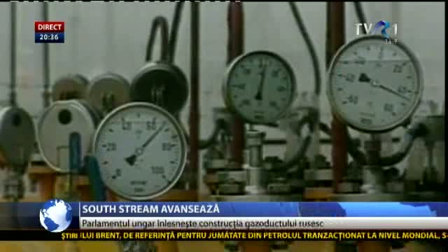 South Stream avansează