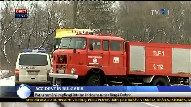 Accident auto în Bulgaria