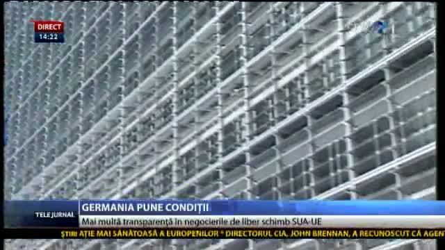Germania pune condiții