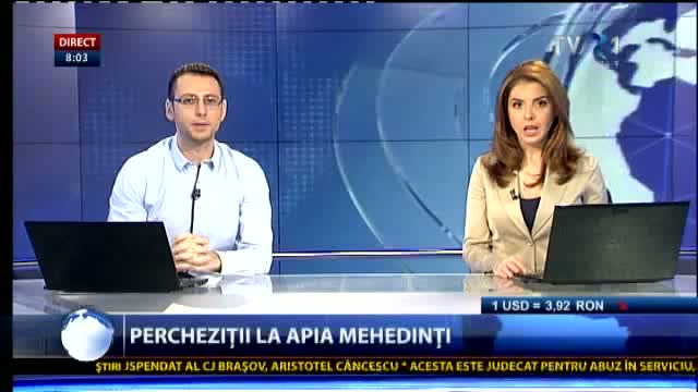 Percheziții DNA la APIA Mehedinți