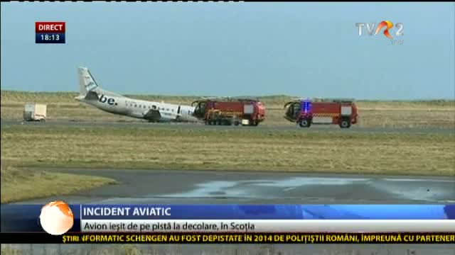 Incident aviatic în Scoția