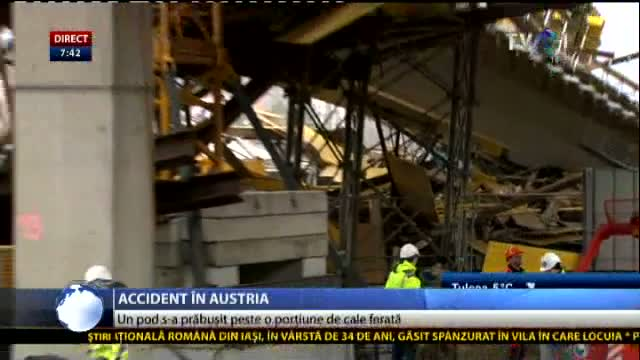 Accident în Austria