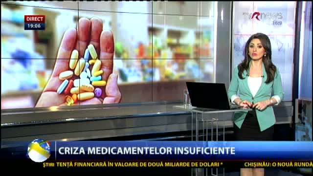 TELEJURNAL MOLDOVA Criza medicamentelor