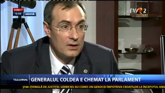 Coldea, in Parlament