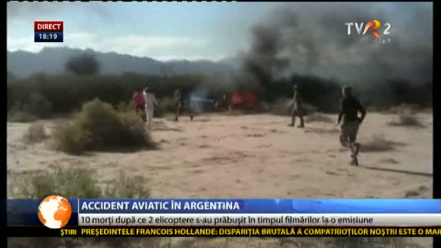 Accident aviatic în Argentina