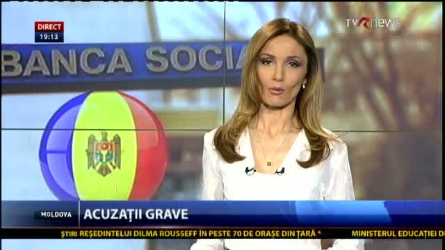 TELEJURNAL MOLDOVA. Acuzații grave