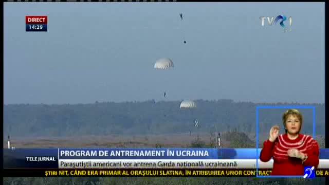 Program de antrenament în Ucraina