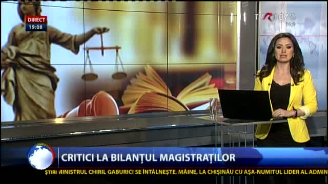 Telejurnal Moldova Critici la bilanțul magistraților