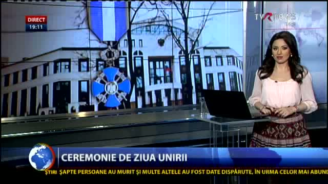 Telejurnal Moldova Decorați de Ziua Unirii