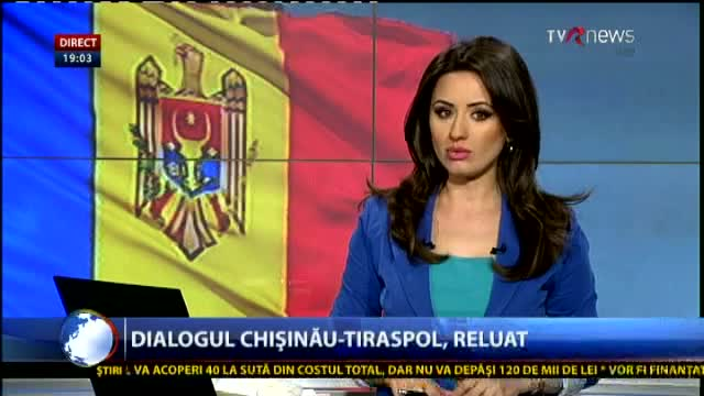 Telejurnal Moldova - Dialog reluat