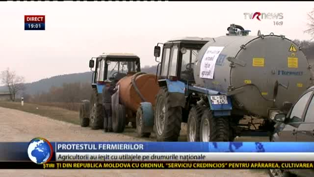 Telejurnal Moldova Protestul fermierilor
