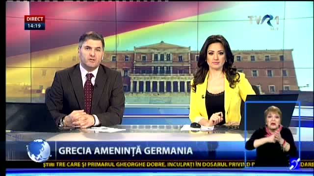 Grecia amenintă Germania
