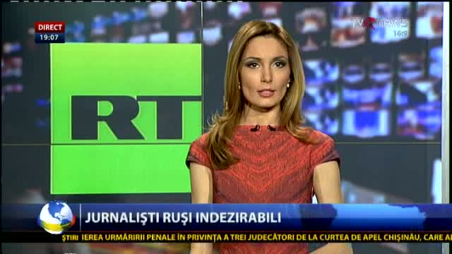 TELEJURNAL MOLDOVA Jurnaliști ruși indezirabili