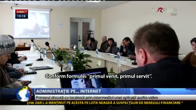 Telejurnal Moldova: Administrație pe internet