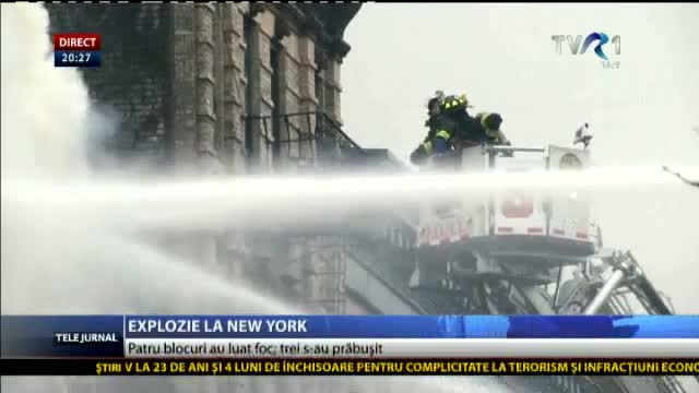 Explozie la New York