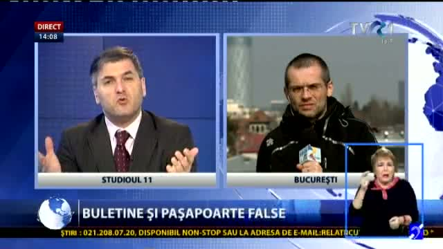 Pașapoarte false