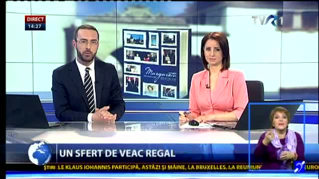 Un sfert de veac regal