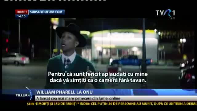 William Pharell, la ONU
