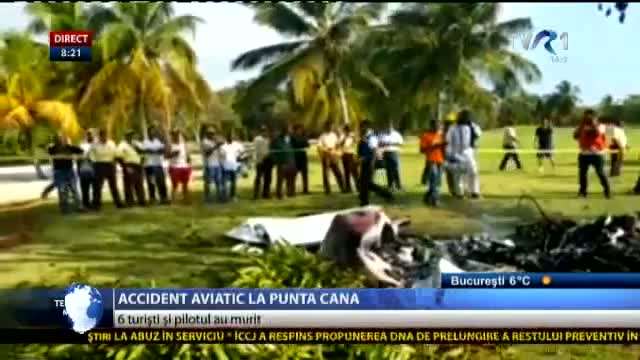 Accident aviatic în Republica Dominicană