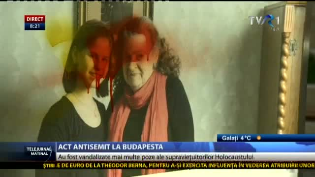 Act antisemit la Budapesta
