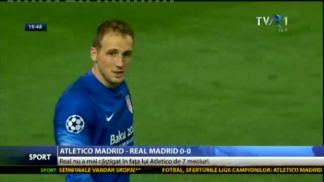 Atletico Madrid - Real Madrid 0-0