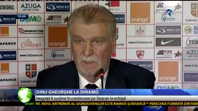 Dinu Gheorghe - manager general la Dinamo